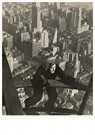 Lewis Hine(1874-1940)  -  Safety-Man Coming Up On Mooring Mast, Empire State Building - Postkaart -  A16707-1
