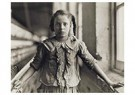 Lewis Hine(1874-1940)  -  Girl Worker In Carolina Cotton Mill, 1907 - Postkaart -  A16739-1