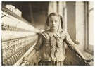 Lewis Hine(1874-1940)  -  Cotton-Mill Worker, North Carolina - Postkaart -  A16765-1