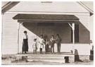 Lewis Hine(1874-1940)  -  Vijf leerlingen aanwezig op school # 6, dist. 3, fort morgan - Postkaart -  A16783-1