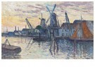 Maximilien Luce(1858-1941)  -  Moulins En Hollande - Postkaart -  A16959-1