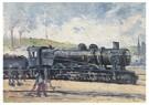 Maximilien Luce(1858-1941)  -  La Locomotive, Environs De Charleroi - Postkaart -  A16995-1