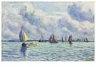 Maximilien Luce(1858-1941)  -  Bateaux Sur La Meuse À Rotterdam - Postkaart -  A17028-1