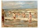 Max Liebermann(1847-1935)  -  Badende Knaben - Postkaart -  A17149-1
