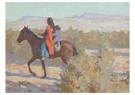 Maynard Dixon(1875-1946)  -  Apache Woman - Postkaart -  A17223-1