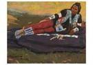 Maynard Dixon(1875-1946)  -  Flathead Brave - Postkaart -  A17231-1