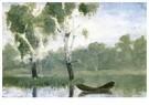 Edvard Munch(1863-1944)  -  Klein meertje met boot - Postkaart -  A17239-1