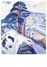Edvard Munch(1863-1944)  -  Winter In Kragerø - Postkaart -  A17469-1