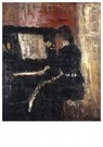 Edvard Munch(1863-1944)  -  Girl At The Piano - Postkaart -  A17596-1