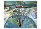 Edvard Munch(1863-1944)  -  Winter Night - Postkaart -  A17659-1