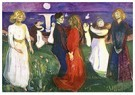 Edvard Munch(1863-1944)  -  The Dance Of Life - Postkaart -  A17802-1