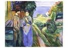 Edvard Munch(1863-1944)  -  Summer Evening - Postkaart -  A17803-1