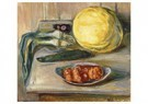 Edvard Munch(1863-1944)  -  Still Life With Pumpkin And Other Vegetables - Postkaart -  A17821-1