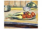 Edvard Munch(1863-1944)  -  Still Life With Tomatoes, Leek And Casseroles - Postkaart -  A17823-1