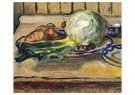 Edvard Munch(1863-1944)  -  Still Life With Cabbage And Other Vegetables - Postkaart -  A17824-1