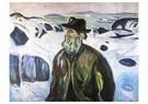 Edvard Munch(1863-1944)  -  Old Fisherman - Postkaart -  A18010-1