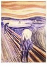 Edvard Munch(1863-1944)  -  The Scream - Postkaart -  A18106-1