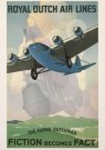 Jan Wijga (1902-1978)  -  Royal Dutch Air Lines - Postkaart -  A1816-1