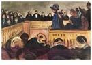 Edvard Munch(1863-1944)  -  Foster Mothers In Court - Postkaart -  A18217-1