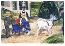 Edvard Munch(1863-1944)  -  The Goatcart - Postkaart -  A18240-1