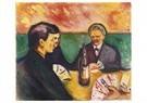 Edvard Munch(1863-1944)  -  Card Players In Elgersburg - Postkaart -  A18301-1