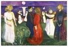 Edvard Munch(1863-1944)  -  Life - Postkaart -  A18461-1