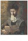Odilon Redon(1840-1916)  -  Madame Camille Redon Lisant - Postkaart -  A18499-1