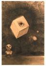 Odilon Redon(1840-1916)  -  Oeil - Postkaart -  A18504-1