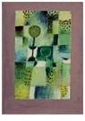 Paul Klee(1879-1940)  -  Parkbild Bei Regen - Postkaart -  A18643-1