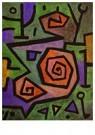 Paul Klee(1879-1940)  -  Heroic Roses - Postkaart -  A18669-1