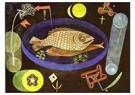 Paul Klee(1879-1940)  -  Around The Fish - Postkaart -  A18678-1