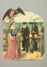 -  poëziepl/ Emigratie/  J.H.M - Postkaart -  A1882-1