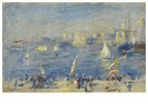 Auguste Renoir (1841-1919)  -  Port De Marseille, Le Fort Saint-Jean - Postkaart -  A19201-1