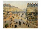 Camille Pissarro (1830-1903)  -  The Avenue De L'Opera, Paris, Sunlight, Winter Morning - Postkaart -  A19506-1
