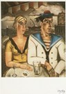 Reimond Kimpe (1885-1970)  -  Zeemanspaar / maritiem - Postkaart -  A1959-1