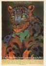 Milton Glaser (1929)  -  The Snow Leopard - Postkaart -  A1970-1