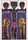 Gilbert & George  -  Bad God - Postkaart -  A1984-1