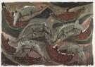 Marcus Lupertz (1941)  -  Lupertz/ Ratten en meloenen - Postkaart -  A1993-1