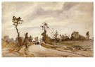 Camille Pissarro (1830-1903)  -  Road To Racquencourt 1871 - Postkaart -  A19955-1