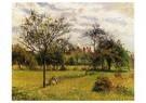 Camille Pissarro (1830-1903)  -  Morning Autumn Sunlight Eragny 1900 - Postkaart -  A19961-1