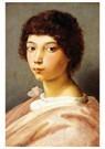 Rafaël Sanzio (1483-1520)  -  Portrait Of A Young Man - Postkaart -  A19974-1