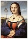 Rafaël Sanzio (1483-1520)  -  Portrait Of Maddalena Doni - Postkaart -  A19978-1