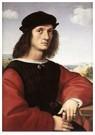 Rafaël Sanzio (1483-1520)  -  Portrait Of Agnolo Doni - Postkaart -  A19981-1