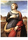 Rafaël Sanzio (1483-1520)  -  St Catherine Of Alexandria - Postkaart -  A19984-1