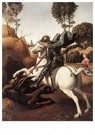 Rafaël Sanzio (1483-1520)  -  St George And The Dragon - Postkaart -  A19985-1