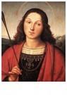 Rafaël Sanzio (1483-1520)  -  St Sebastian - Postkaart -  A19986-1