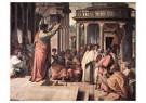 Rafaël Sanzio (1483-1520)  -  St Paul Preaching In Athens - Postkaart -  A19989-1