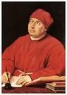 Rafaël Sanzio (1483-1520)  -  Cardinal Tommaso Inghirami - Postkaart -  A19994-1
