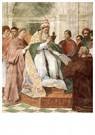 Rafaël Sanzio (1483-1520)  -  Gregory IX Approving The Decretals - Postkaart -  A20000-1