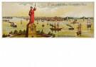 A.N.B.  -  Kerstman als Vrijheidsbeeld - Postkaart -  A200027-1